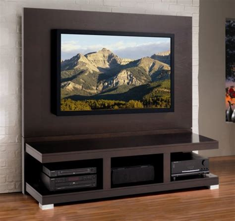 diy tv stand wall design wooden  rustic wood furniture