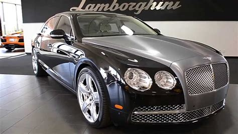 bentley continental flying spur onyx black lc