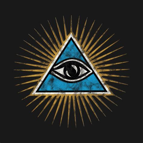 Illuminati Pyramid Eye Vintage All Seeing Eye Of Providence Illuminati Pyramid