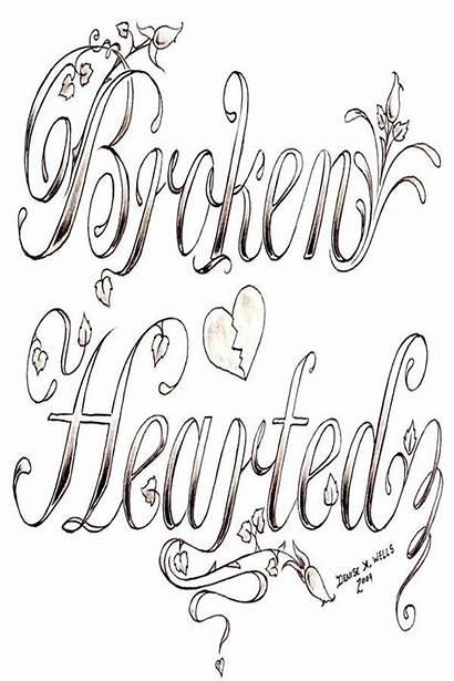 Coloring Tattoo Adult Heart Printable Trendy Rosalie