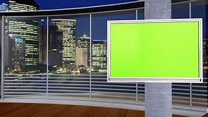 new free green screen studio set 3 different angles With green screen backgrounds free templates