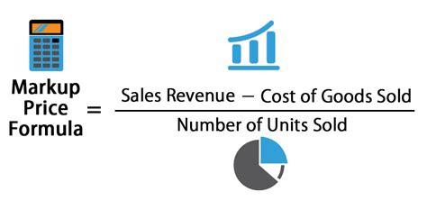markup price formula calculator excel template