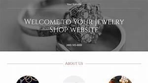 Jewelry Shop Website Templates