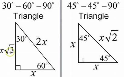60 90 Degree Triangles Education Around
