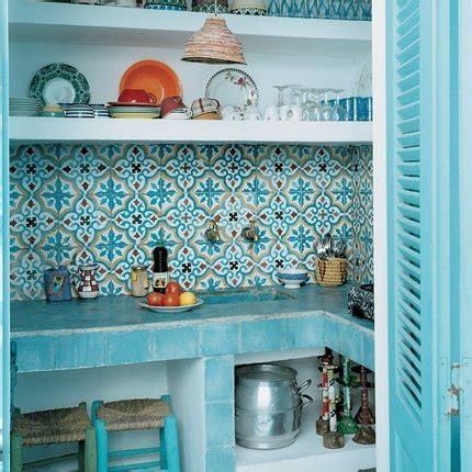 cuisine marocaine design des cuisines aux couleurs vitaminées maison