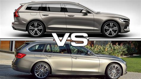 2019 Volvo V60 Vs 2018 Bmw 3 Series Touring Youtube