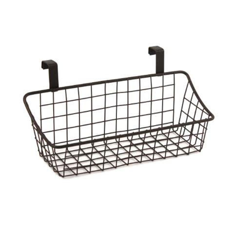 Spectrum Diversified Grid Storage Basket Over The Cabinet