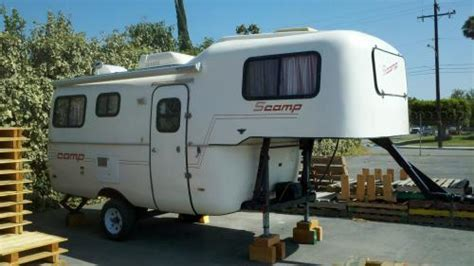 SOLD   1990 Scamp 5th Wheel   Colorado   Fiberglass RV's