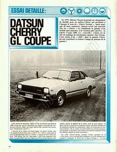 Le Moniteur Automobile : essai datsun cherry n10 coupe et berline 1400 gl 1981 z one zone datsun fr ~ Maxctalentgroup.com Avis de Voitures