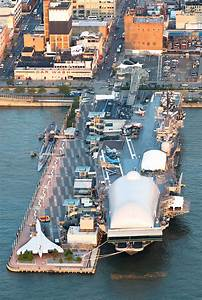 Intrepid Museum Aerial | Keith Sherwood Photography