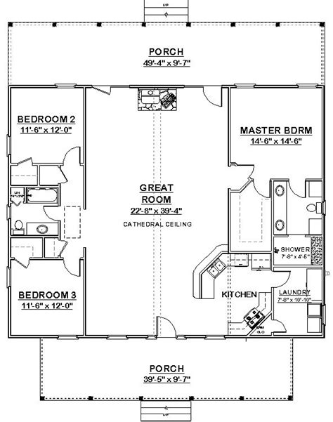 square floor plans square house plans 40x40 the makayla plan has 3 bedrooms