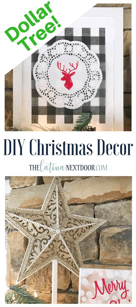 diy christmas decorations  dollar tree products