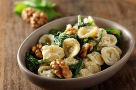 recette cuisine facile originale recette de orecchiette épinards ricotta noix facile et