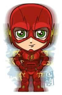 Mini Flash Superhero Cartoon Drawing