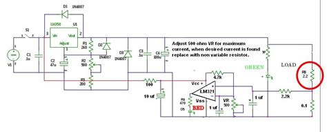 Comparator Short Circuit Indicator Possible Design