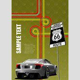 sports-car-outline-vector