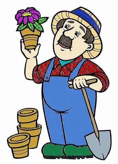 Clipart Clip Garden Tools Gardener Gardening Farmer