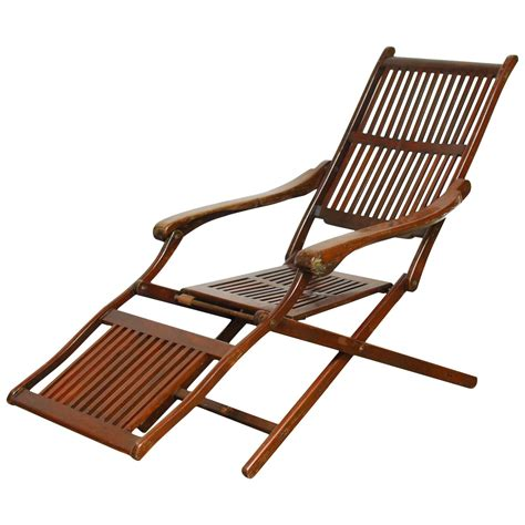 antique steamer deck chair for sale at 1stdibs