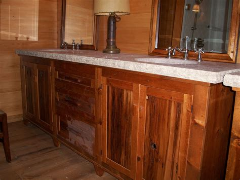 rustic double sink vanity well like brown recycled woods rustic vanity with double