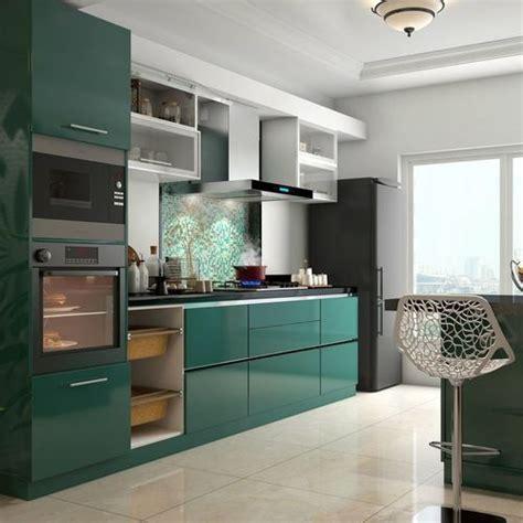 ceramic  plywood modular kitchen rs  square feet