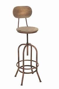 CLP Design Barhocker PINO Im Industrial Look Materialmix