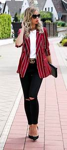 The 25+ best Blazer outfits ideas on Pinterest | Blazer outfits for women Black blazer outfits ...