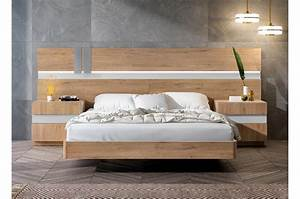 Lit Moderne Design : lit adulte moderne contemporain bois cbc meubles ~ Nature-et-papiers.com Idées de Décoration