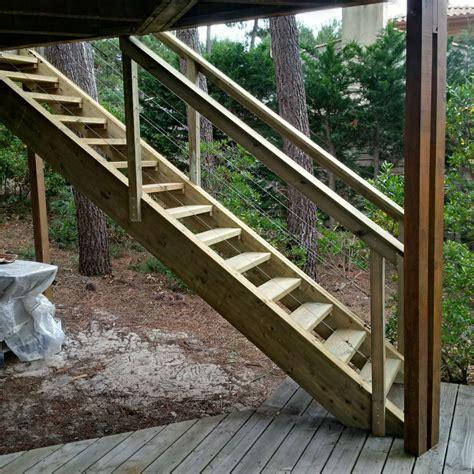 placards de cuisine escalier exterieur en bois artisan charpente menuiserie