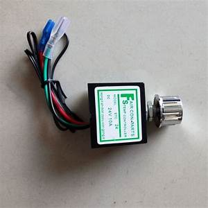 24v Car Air Conditioner Thermostat Switch Adjustable