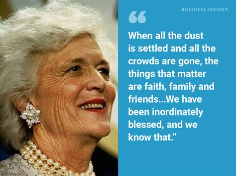 quotes  show  barbara bush    beloved