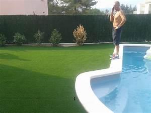 gazon synthetique autour d une piscine 4 installation With gazon synthetique autour d une piscine