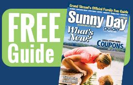 sunny day guide coupons