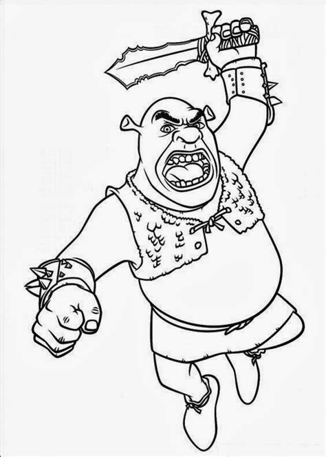 shrek coloring pages coloring pages shrek coloring pages