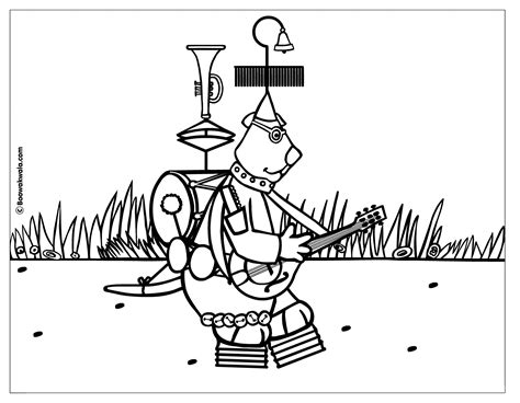 Music Coloring Pages / Pictures / Books