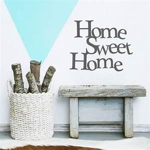 Home Sweat Home : home sweet home vinyl wall sticker by oakdene designs ~ Markanthonyermac.com Haus und Dekorationen
