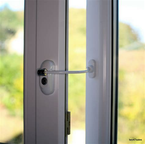 lockable window security cable wire door restrictor child safety upvc timber key ebay