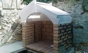 Construire Barbecue Beton Cellulaire : construire un barbecue avec grille manivelle frontale ~ Dailycaller-alerts.com Idées de Décoration