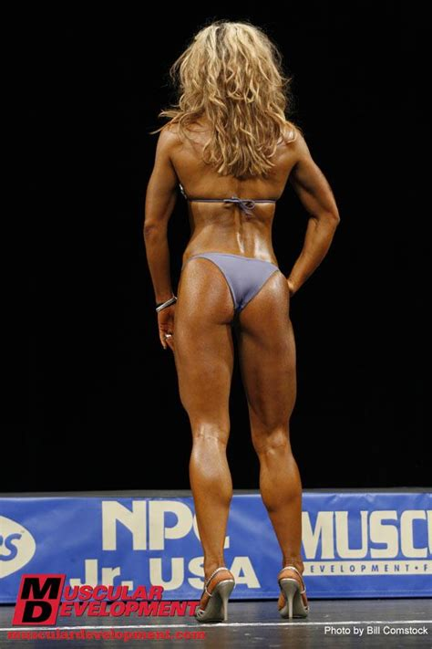 her calves muscle legs stacey oster thompson muscular legs