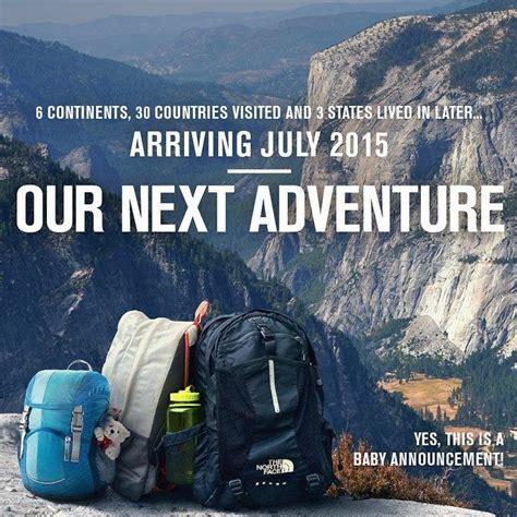 baby announcement adventure newbaby travel