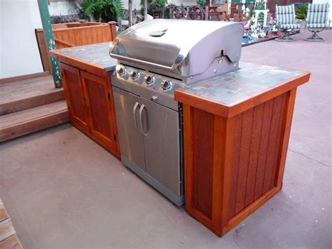 diy outdoor kitchen island bbq island diy bbq our finished projects 6872