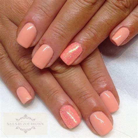 shellac nails colors cnd shellac salmon run nails salmon