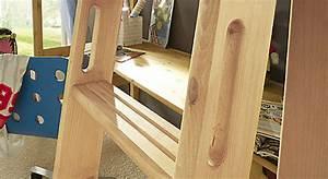 Leiter Für Hochbett : midi hochbett mit lattenrost kids paradise ~ Whattoseeinmadrid.com Haus und Dekorationen
