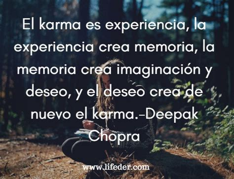 95 frases sobre el karma para meditar lifeder