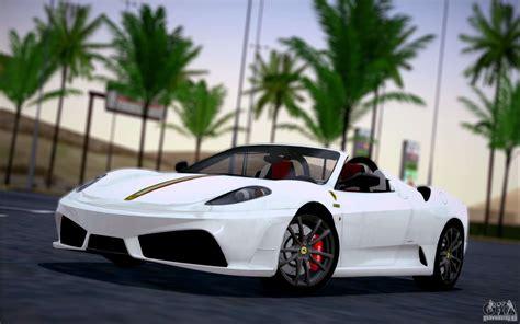 F430 Scuderia Spider by F430 Scuderia Spider 16m For Gta San Andreas
