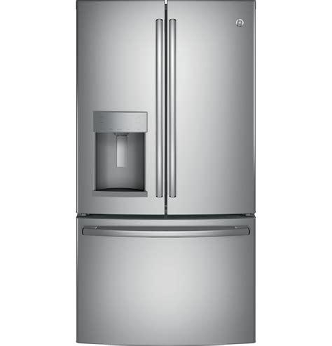 ge appliances gfegskss  cu ft french door refrigerator stainless steel
