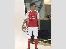 Granit Xhaka pictured in full Arsenal kit ahead of £