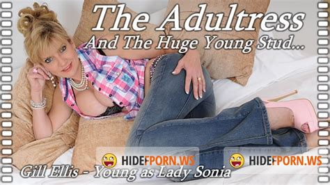 Lady Lady Sonia Adultress And The Huge Young