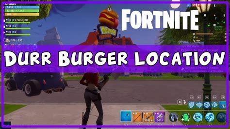fortnite guide durr burger     complete