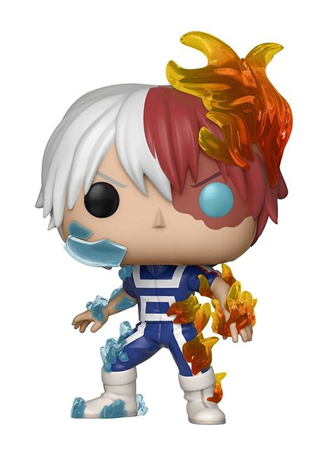pop animation  hero academia featuring todoroki