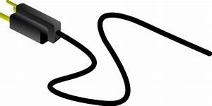Power Cable  Us Clip Art At Clker Com